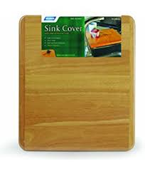 sink covers for more counter space amazon com camco sink mate cutting board designed for rv cer