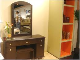 Home Decor With Mirrors by Dressing Table With Integrated Mirror Design Ideas Interior
