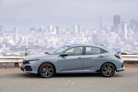 subaru sport hatchback 2017 honda civic hatchback ex l w navi first drive review