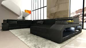 black fabric corner sofa bed living room furniture and loveseat