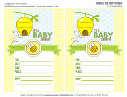 baby shower bee theme baby shower labels in a bumble bee boys theme worldlabel