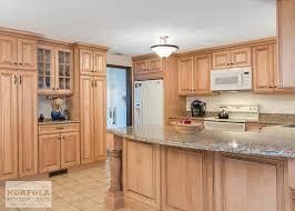 Maple Kitchen Cabinets With Granite Countertops Tewksbury Kitchen Remodel With Maple Cabinets Walnut Glaze