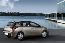 toyota europe all new 2013 toyota auris pictures and details autotribute
