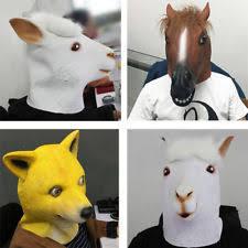 Horse Mask Meme - rubber horse mask ebay