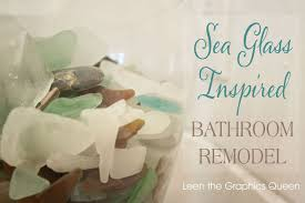 sea glass bathroom ideas our sea glass inspired bathroom remodel hometalk