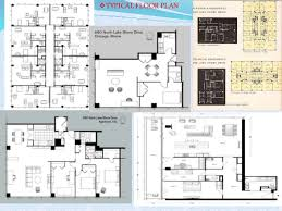 Chicago Apartment Floor Plans Lake Shore Apartments