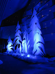 whoville tree whoville trees church stage design ideas