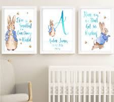 Beatrix Potter Nursery Decor Beatrix Potter Nursery Ebay