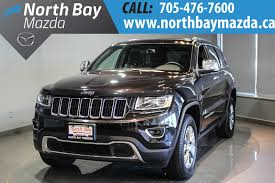 pre owned 2016 jeep grand cherokee limited leather interior