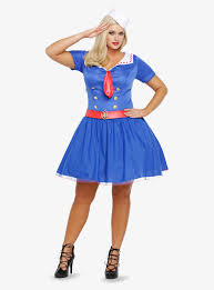 halloween sailor costume plus size sailor costume dress from torrid plus model magazine