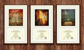 college diploma frames college diploma frames prints groupon goods