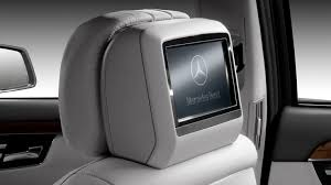 mercedes s class rear seats s550 s class rear seat entertainment system available at http