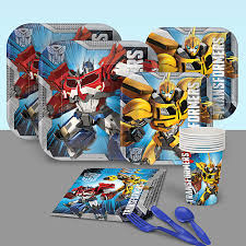 transformer party favors transformers birthday party supplies theme party packs