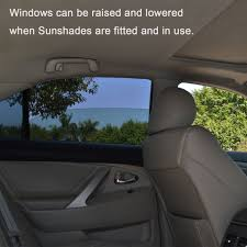 amazon com tfy universal car rear side door square window