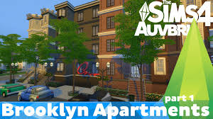 Brooklyn House The Sims 4 House Build Brooklyn Apartments Part 1 Youtube