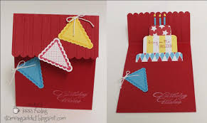 how to make handmade pop up birthday cards birthday cake pop up card tutorial confessions of a