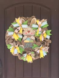 easter wreath 55 and easy to make easter wreath ideas
