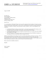 cover letter to college gallery of recent college graduate cover letter sle fastweb