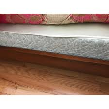 ethan allen full size wood bed frame aptdeco