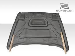 Dodge Ram 1500 - 02 09 dodge ram srt look duraflex body kit hood 103803 ebay