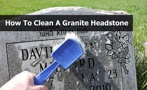 how to clean a granite headstone patten u0027s michigan monuments