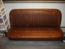 Brown Leather Bench Seat Show Photos Of Your Bench Seats The 1947 Present Chevrolet
