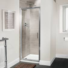 Shower Door 720mm Aquafloe Premium 6mm 760 Pivot Shower Door