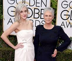 how to get jamie lee curtis hair color jamie lee curtis and daughter annie guest sport matching hair