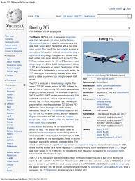 boeing 767 wikipedia the free encyclopedia aviation aeronautics