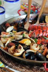 Summer Lunches Entertaining - best 25 easy seafood paella recipe ideas on pinterest seafood