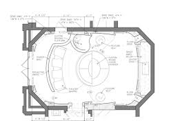 home theater floor plan plans home theater design plans