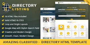 viavi directory listing html template website themes
