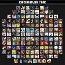 Memes Characters - 150 characters meme by saffronpanther on deviantart