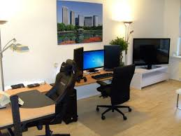 Desk For Computer And Tv Home Accessories Extraordinary Gaming Setup Ideas With Keyboards