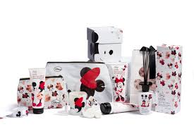 minnie loves mickey bath and body collection for laline mickey
