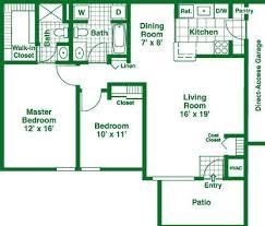 2 bedroom garage apartment floor plans granite property management co