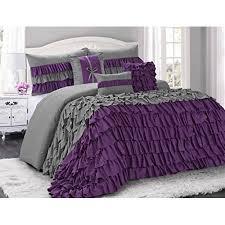 Ruffle Bedding Set Ruffle Comforter Set King 7 Brise Color Ruffled