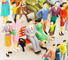 1 25 scale model figures for outdoor model railroad and interior