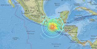 earthquake update update 11 04 p m 8 1 earthquake in mexico no tsunami threat to