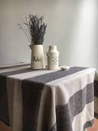 linen tablecloth french country rustic table cloth square
