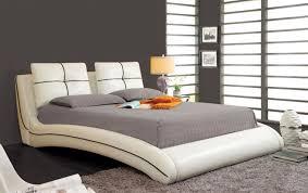 California King Platform Bed Frame Plans by Bedroom Stunning Curved Padded California King Platform Bed Frame