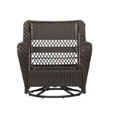 Garden Treasures Patio Furniture Replacement Cushions by Garden Treasures Glenlee Brown Steel Patio Conversation Chair
