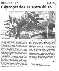 chambre des metiers forbach revue de presse page 13 cma 57
