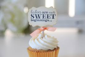 baby shower cupcake toppers etsy baby shower decoration