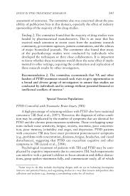 5 issues in ptsd treatment research treatment of posttraumatic