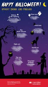 spooky halloween idioms infographic image we love idioms