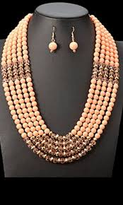 indian beads necklace images Beads necklace set african nigerian indian wedding wear dreamy jpg