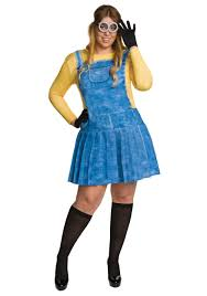 deluxe plus size halloween costumes plus size female minion costume female minion costumes and