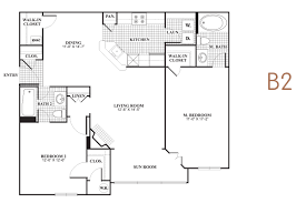 malvern lakes two bedroom floorplan b2