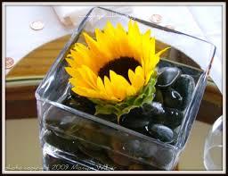 sunflower centerpieces a special day designs diy sacramento lake tahoe wedding flowers